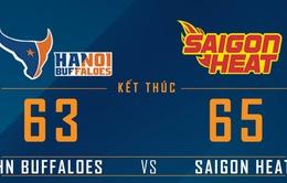 VBA 2016: Sài Gòn Heat lần đầu tiên giành chiến thắng trước Hà Nội Buffaloes