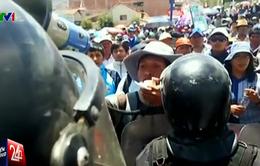 Biểu tình tại Peru: Giáo viên tấn công cảnh sát