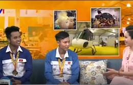 Gặp gỡ hai thí sinh đạt Huy chương Vàng kỳ thi Tay nghề ASEAN