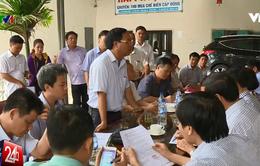 Đoàn công tác liên ngành đánh giá lại tình hình đền bù thiệt hại cho ngư dân