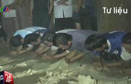 Rùng mình hủ tục tang ma của người Mông ở Thanh Hóa