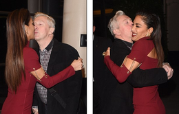 Giám khảo The X-Factor bất ngờ trao nhau nụ hôn ở hậu trường