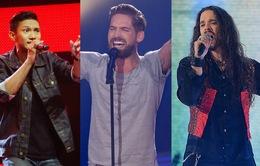 """Những màn Rock """"bùng nổ"""" nhất vòng Giấu mặt các phiên bản The Voice"""