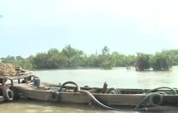 Bắt cát tặc trên sông Đồng Nai
