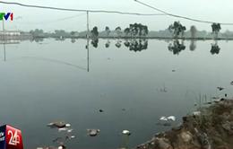 """Bãi rác lớn nhất Vĩnh Long có nguy cơ """"vỡ trận"""""""