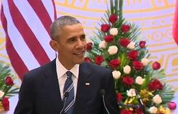 Ông Obama trích tục ngữ Việt Nam trong phát biểu tại tiệc chiêu đãi