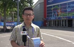Trung tâm truyền hình quốc tế IBC nhộn nhịp trước EURO