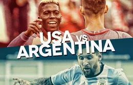 Bán kết Copa America 2016, Mỹ - Argentina: Chủ nhà khó cản Messi (8h00, 22/6)