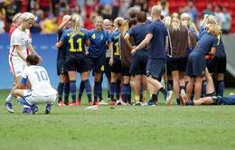Olympic Rio 2016: ĐT nữ Thụy Điển bất ngờ đánh bại ĐKVĐ ĐT Mỹ