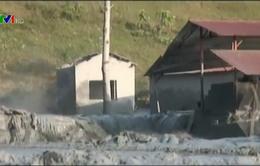 Sở TNMT Cao Bằng đề nghị xử lý nhanh sự cố vỡ bể chứa chất thải chì kẽm