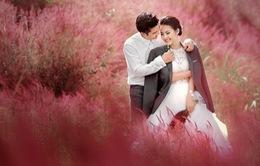 Vân Trang tung ảnh cưới đẹp lung linh