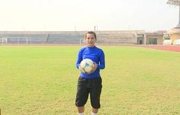 Văn Thị Thanh - từ niềm đam mê bóng đá đến tình yêu bóng chuyền