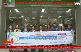 """""""Chạy vì trẻ em Hà Nội 2016"""" mang niềm vui cho các bệnh nhi có hoàn cảnh khó khăn"""