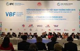 Khai mạc diễn đàn Doanh nghiệp Việt Nam VBF 2016