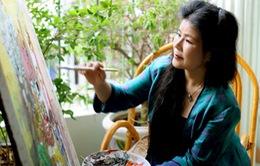 Nét Việt trong tranh của họa sĩ Việt kiều Văn Dương Thành