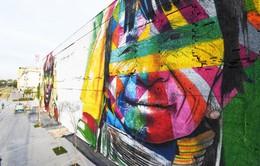 Tìm hiểu nghề vẽ tranh tường tại Olympic Rio 2016