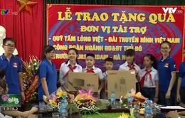10 bộ máy tính mới đến với ngôi trường nghèo tại huyện Ứng Hòa, Hà Nội