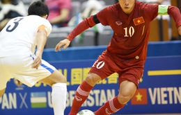 ĐT futsal Việt Nam hòa tiếc nuối với đội á quân châu Á Uzbekistan