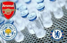 Nhiều ngôi sao Arsenal, Chelsea bất ngờ bị cáo buộc sử dụng doping