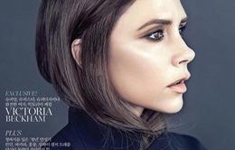 Choáng với hình ảnh lạnh lùng của bà Beck trên Vogue Hàn Quốc