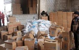 Phương Tây kêu gọi viện trợ bằng đường không tới Syria