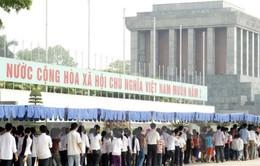 Tạm ngừng tổ chức lễ viếng Chủ tịch Hồ Chí Minh để tu bổ định kỳ