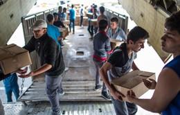 Chuyến hàng viện trợ của châu Âu tới Syria