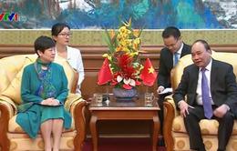 Thủ tướng Nguyễn Xuân Phúc tiếp Hội hữu nghị Trung - Việt