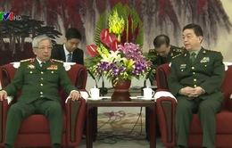 Việt Nam - Trung Quốc tăng cường hợp tác quốc phòng