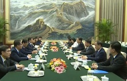 Đồng chí Phạm Minh Chính hội đàm với Trưởng Ban Tổ chức Trung ương Trung Quốc