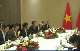 PTTg, Bộ trưởng Ngoại giao Phạm Bình Minh gặp Ngoại trưởng Trung Quốc Vương Nghị