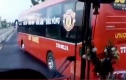 Bình Định: Xử lý nghiêm xe khách đánh võng, chặn đầu xe