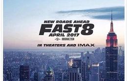 Poster đầu tiên của 'Fast & Furious 8'
