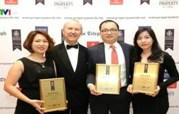 Vingroup đứng đầu 3 giải thưởng BĐS châu Á - Thái Bình Dương