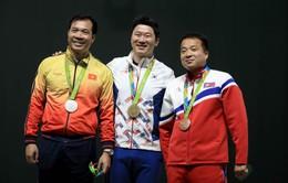 Hoàng Xuân Vinh mất cơ hội đổi màu huy chương nội dung 50m súng ngắn bắn chậm tại Olympic Tokyo 2020