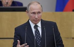 Tổng thống Nga Putin kêu gọi tăng cường năng lực quốc phòng