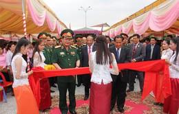 Khánh thành Đài tưởng niệm các anh hùng liệt sĩ Việt Nam - Campuchia tại Kampot