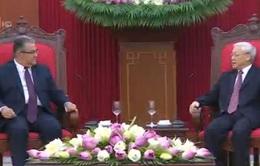 Tổng Bí thư tiếp Đảng Cộng sản Hy Lạp