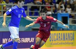 Việt Nam vượt qua vòng bảng FIFA Futsal World Cup 2016