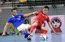 Tuyển Futsal Việt Nam cầm hòa Uzbekistan