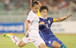 ĐT nữ Việt Nam sẽ tranh ngôi đầu với Thái Lan ở lượt trận cuối