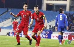 Những khoảnh khắc đáng nhớ trong thắng lợi 4-1 của ĐT Việt Nam trước Đài Bắc Trung Hoa