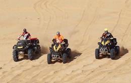 Hấp dẫn đua motor trên cát tại Ninh Thuận