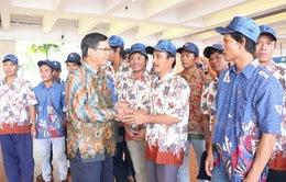 Indonesia trao trả 28 ngư dân Việt Nam về nước