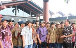 Indonesia trao trả 33 ngư dân Việt Nam