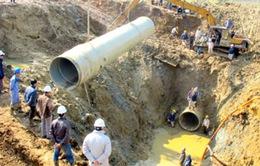 Vỡ đường ống nước tại TP.HCM