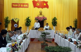 Đoàn Kiểm tra của Bộ Chính trị làm việc với Đà Nẵng