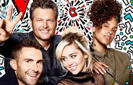 The Voice mùa mới chào đón Miley Cyrus và Alicia Keys