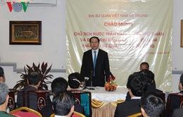 Chủ tịch nước gặp cộng đồng người Việt tại Brunei