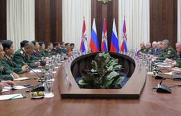 Việt - Nga tăng cường hợp tác quốc phòng